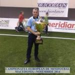 Campionatul European de Minifotbal Macedonia - Noiembrie 2014