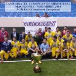 Romania Campioana Europeana la Minifotbal 2014